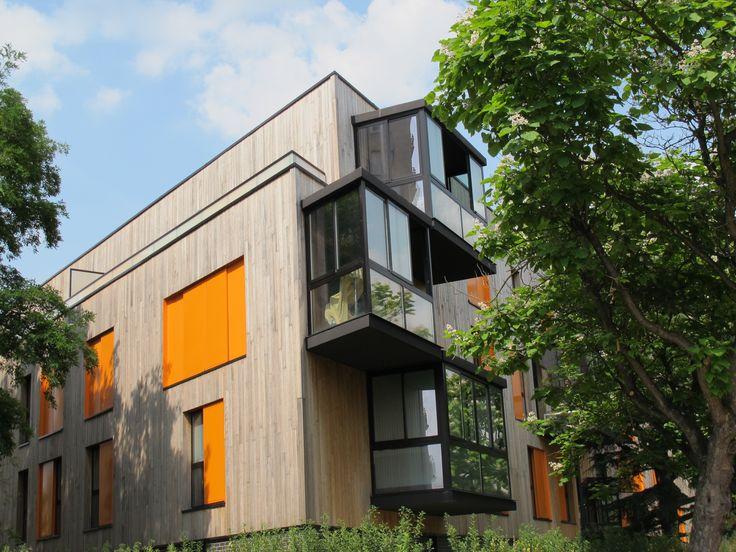 Construction rue du jardin ecole maison contemporaine - Maison jardin fontenay sous bois lille ...