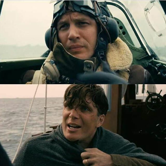 Tom Hardy & Cillian Murphy in Christopher Nolan's Dunkirk