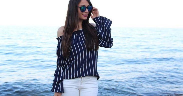 Cómo combinar una camisa de rayas azul marino, ¡viva la comodidad!