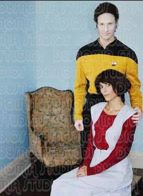 Dysnomia Studio: Data from Star Trek:TNG Cosplay Makeup Tutorial!