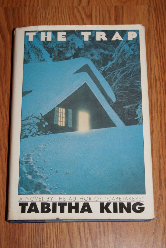 The Trap by Tabitha King (1985, Board Book) With The Original Dust Jacket