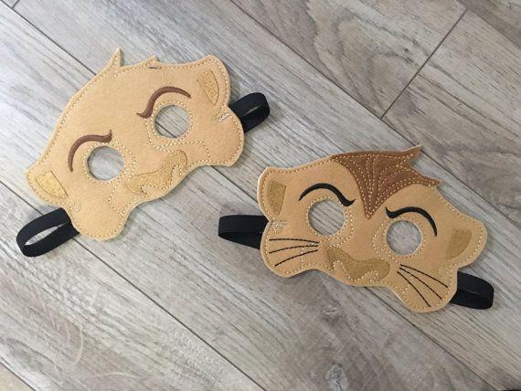 Re Leone ispirato maschere maschere di bambini bambini di 805Masks