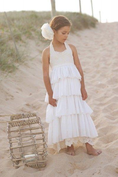 (Foto 16 de 17) Trajes de ceremonia para niñas confeccionados en algodón, encaje o voilé. Imágenes tea Princess., Galeria de fotos de Inspiración para niñas: Vestidos vintage