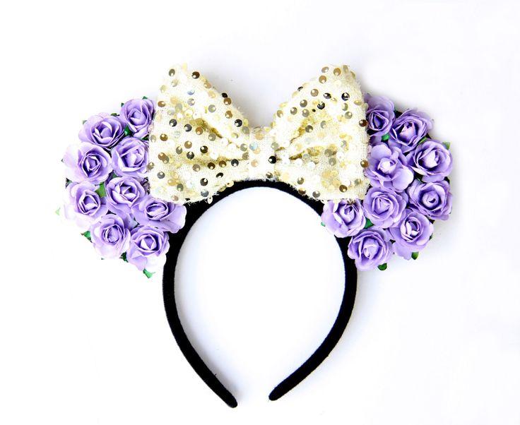 Tangled Mickey Ears, Rapunzel Mickey Ears, Tangled Ears, Rapunzel Ears, Princess Mickey Ears, Disney Ears, Tangled, Disneyland Ears, Disney by Ulous on Etsy https://www.etsy.com/listing/247359882/tangled-mickey-ears-rapunzel-mickey-ears