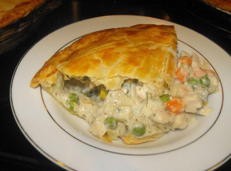 Yum... I'd Pinch That!   The BEST Chicken Pot Pie Ever!