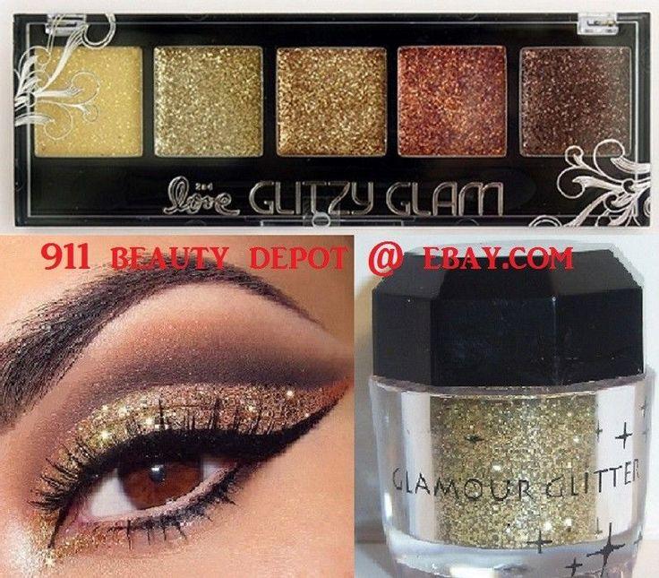 Beauty Treats CALI SUN GLITTER Eye Shadow Color Makeup Cream Eyeshadow Palette     eBay