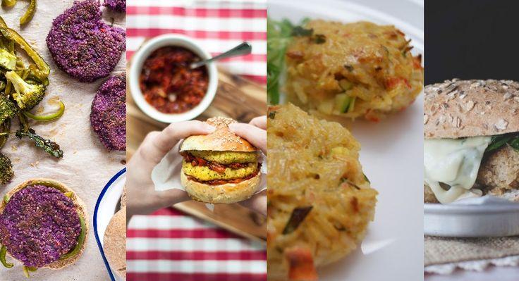 Nestes hambúrgueres vegetarianos, a proteína não vem da carne nem do peixe, mas sim de leguminosas, cereais, tubérculos e frutos secos. Vamos experimentar?