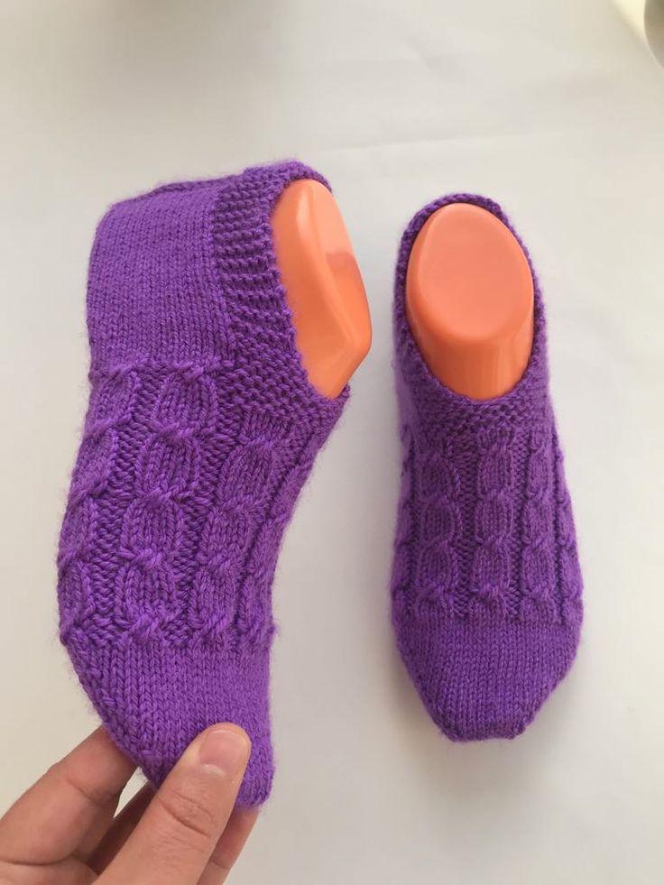 вязаные следки носочки спицами фиолетовые картинки кунаки инстаграме