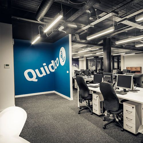 Worked With Quidco In London To Refresh Their Interior Design At Main Office