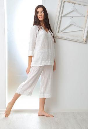 "Pajamas ""Briggitte"" ""Briggitte"" pajamas are made especially for girls who prefer freedom of movement."