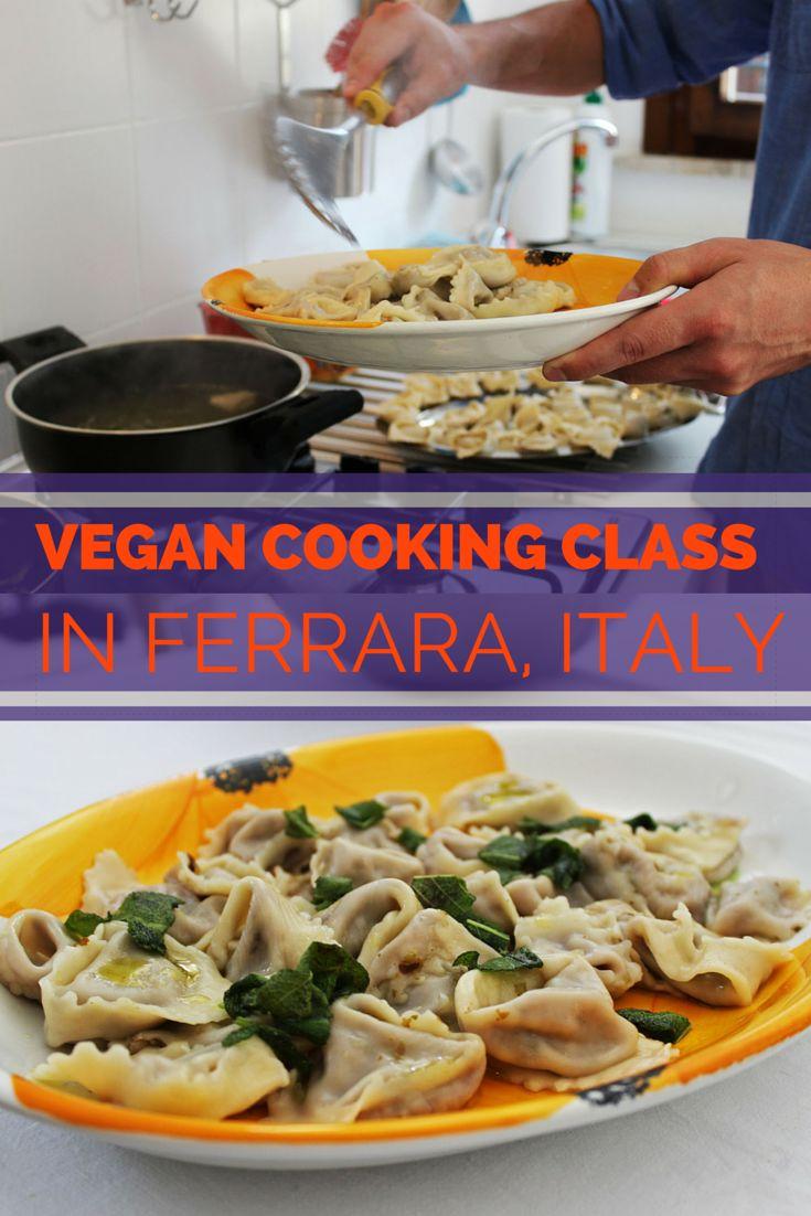 Vegan Cooking Class in Ferrara, Italy