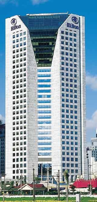 Marc Rubin e Alberto Botti: Hotel Hilton Morumbi, São Paulo - Arcoweb