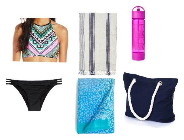 """beach day"" by keeshac on Polyvore featuring Hobie, Melissa Odabash, Toast, Vera Bradley, women's clothing, women, female, woman, misses and juniors"