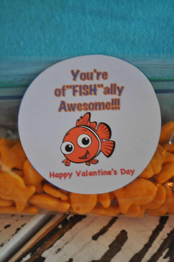 Nemo Says Quot You Re Of Quot Fish Quot Ally Awesome Free Valentine