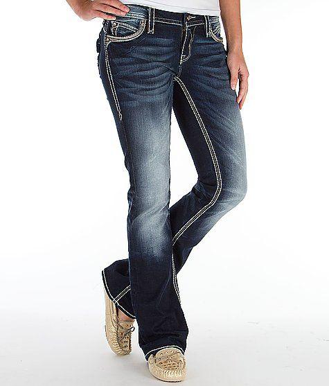 Item #78435E8436E4 Rock Revival Eleanor Easy Boot Stretch Jean