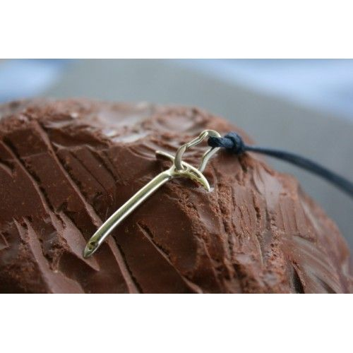 Climbing Ice Axe and Functional Climbing Carabiner Necklace