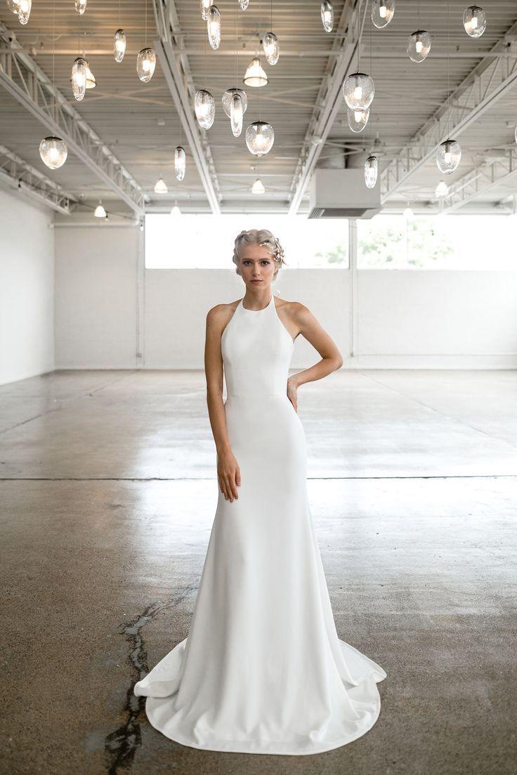 5bbe8b4729068 Lyndale | Tara Latour bridal, Rose and Williams by Tara Latour, Rose and  Williams collection, modern bride, modern wedding dress, modern wedding gown,  ...