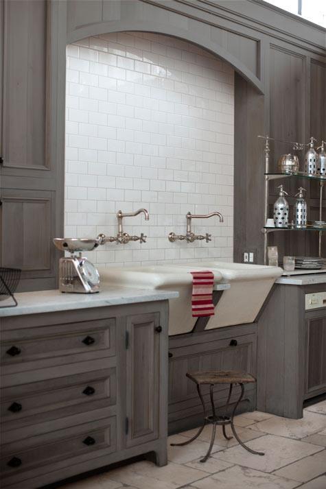 Grey Wash Kitchen Cabinets   Greys   Pinterest