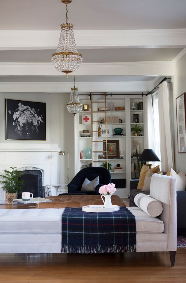 Living Room Tour  Behind the Design with Gwen from The Makerista1141 best Living Spaces images on Pinterest   Living spaces  . Living Room Overhead Lighting. Home Design Ideas