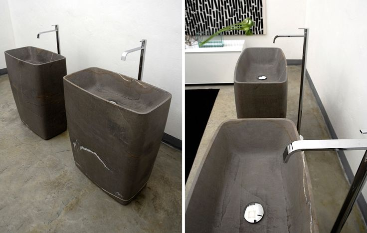 100+ best images about natural stone sinks; sinks made of ...