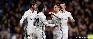 El Real Madrid batió record de partidos marcando