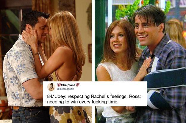 Friends joey and rachel dating