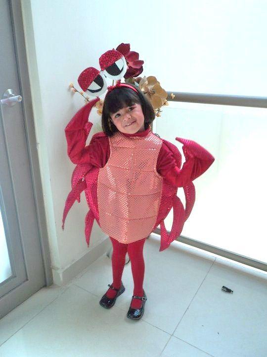 Como Hacer Disfraces De Cangrejos Para Ninos Imagui Disfraces - Disfraz-de-cangrejo-nio