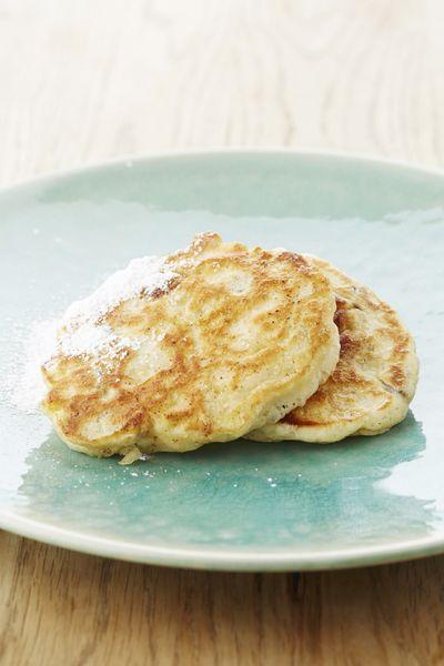 Recepten - Ontbijtkoekjes met rozijnen en appels