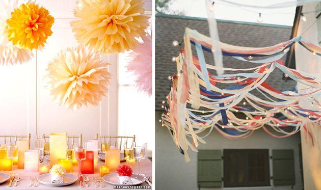 Feest Styling | Oranje feest | Stijlvolle tuin feest versiering • Stijlvol…