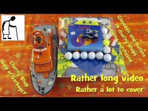 Charity Shop Gold or Garbage? Clevedon and Nailsea 19 charity shops 6 Items purchased RC Biplane by Silverlit RC RNLI Radio Controlled Severn Class …   									source   ...Read More
