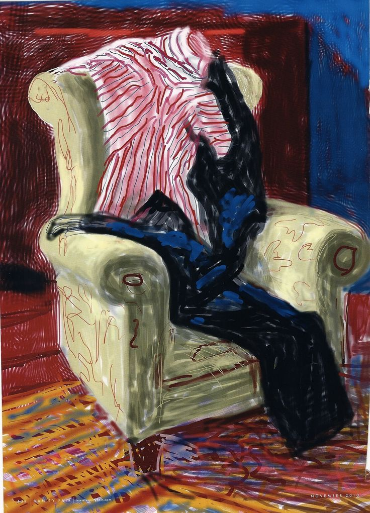 The iPad: David Hockney's (and possibly art's) New Canvas | Messy Nessy ChicMessy Nessy Chic