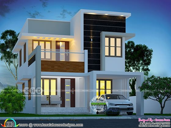 1480 square feet 3 bedroom Cute home design in 2020 ...