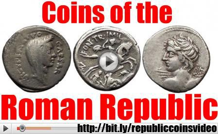 Roman REPUBLIC COIN Collecting Guide How-To Video & Article