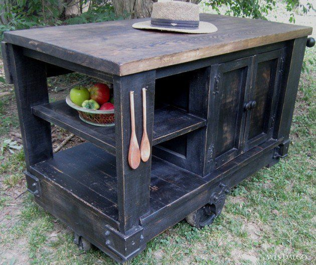 20 Recommended Small Kitchen Island Ideas On A Budget Rustic Kitchen Island Homemade Kitchen Island Rustic Modern Kitchen
