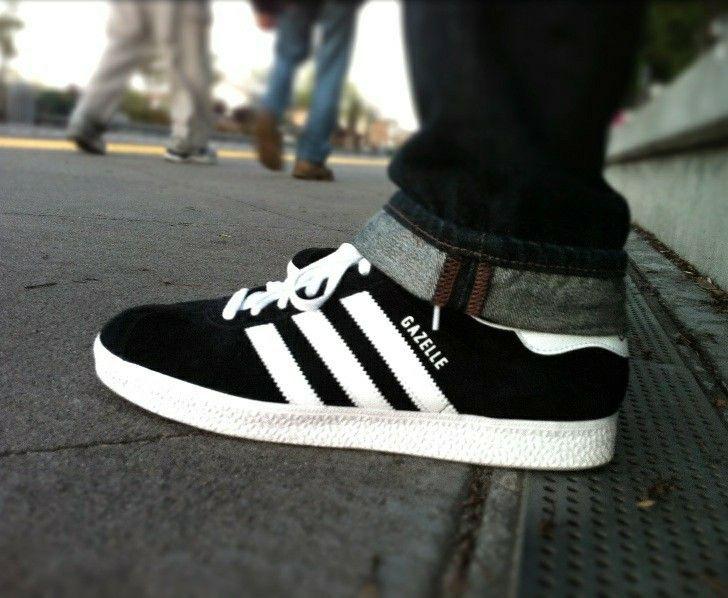 Adidas Gazelle on feet on the street   Adidas gazelle, Sneakers ...