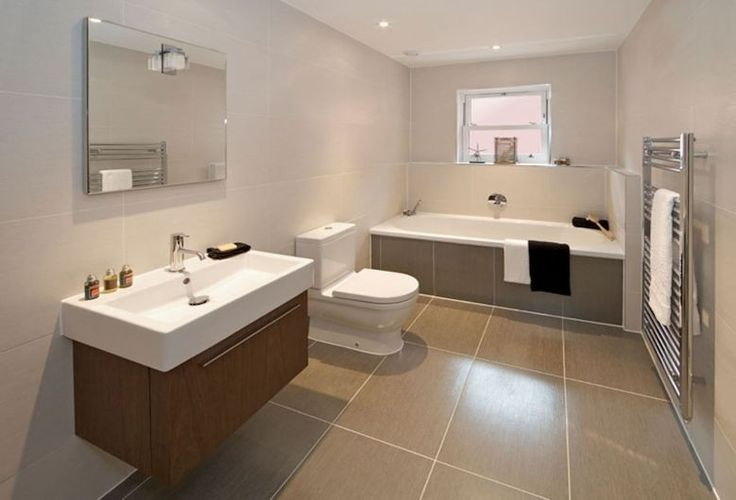 Image result for part tiled bathroom ideas