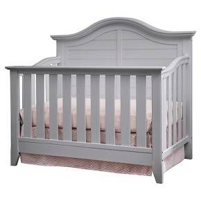 Thomasville Kids Southern Dunes Lifestyle 4-in-1 Convertible Crib - Pebble Gray : Target