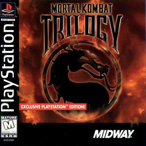Mortal Kombat Trilogy (Sony PlayStation 1, 1996) Black Label Complete