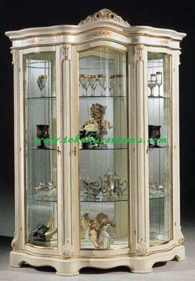 Lemari Hias Dan Pajangan Duco LHS-005 lemari hias, lemari hias murah, lemari pajangan, lemari putih