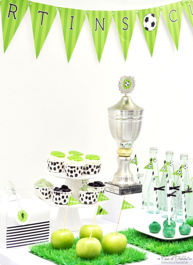 partytheme soccer cup from