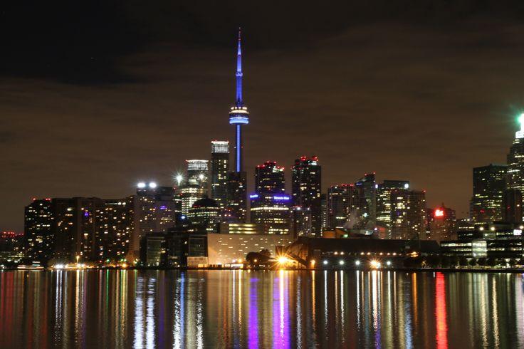 The fabulous Toronto skyline.