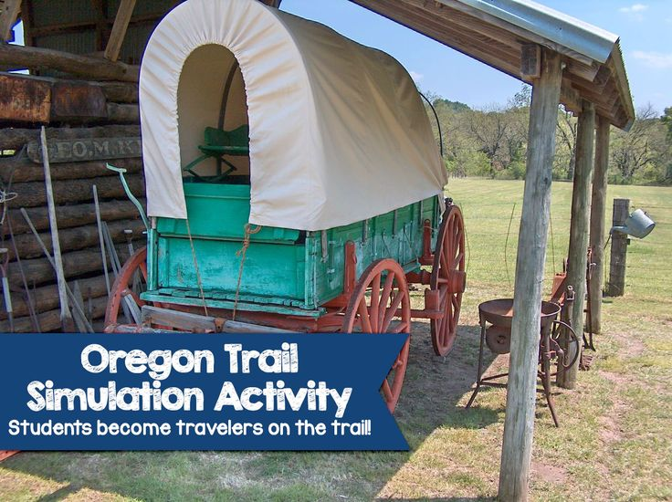 In this Oregon Trail Simulation Activity, Students begin their journey in Independence, Missouri by forming their wagon family and travel the trail!