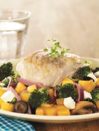 Torsk med lune høstgrønnsaker