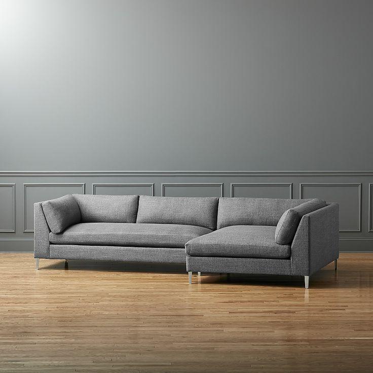 DeckerRAChaiseLASofaAlphaGraniteSHS16_16x9 · Affordable Modern FurnitureModern  SofaSectional ...