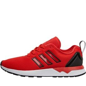 adidas Originals Mens ZX Flux ADV Trainers Red/Core Black/White: adidas Originals minimalist breathable mesh… #UKOnlineShopping #UKShopping