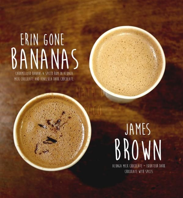 Bella Gelateria - the Erin Gone Bananas and the James Brown.