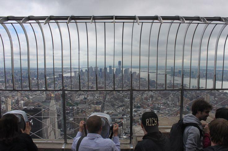 V for 103rd floor empire state building