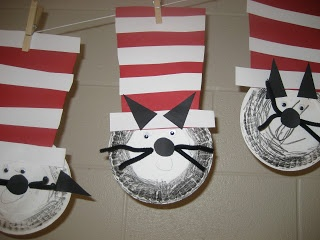 Kinder Doodles: Cat in the Hat Craft Project