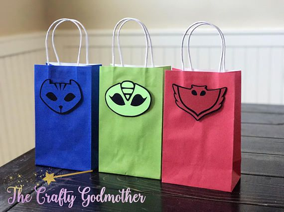 Disney Jr PJ Masks Favor Bags