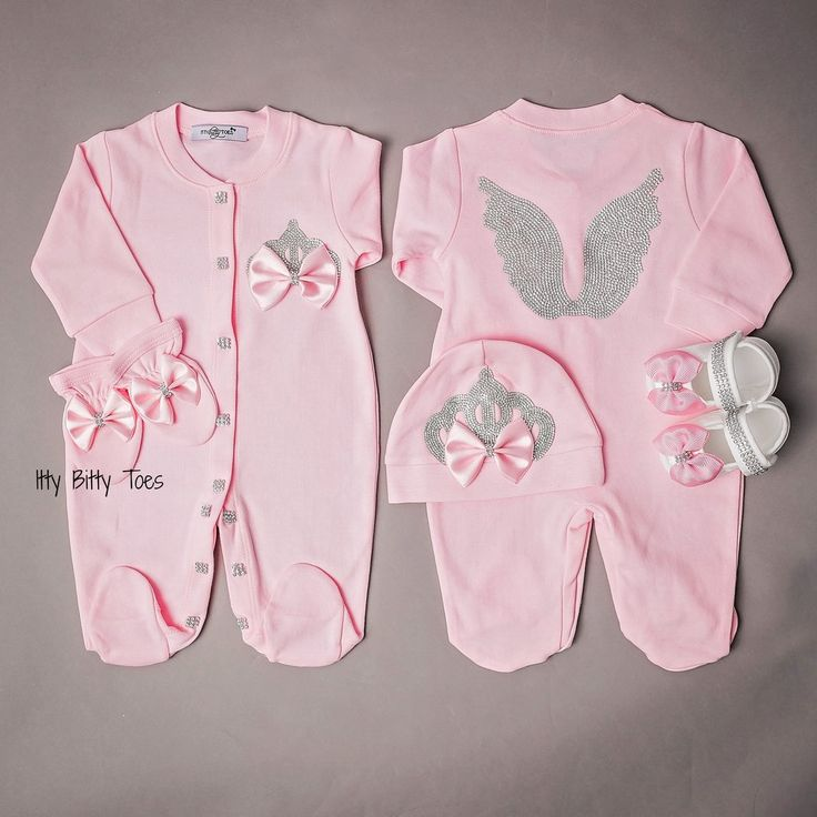 Angel Wings Jewels Set (+ other colors) - Itty Bitty Toes - 1